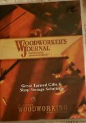 Woodworkers Journal Dvd Great Turned Gifts Shop Storage Solutions