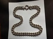 Arte Dand039argento Sterling Silver Curb Link Necklace 18 Retired Qvc 64.5g J31673