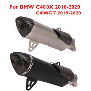 Motorcycle Exhaust Muffler Baffle Escape Tip Pipe For Bmw C400x C400gt 2019-2020
