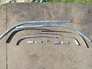 1950-1951 1952 Pontiac Chevy 2dr Coupe Interior Roof Rail Trim Stainless
