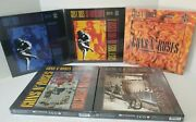 Lot Of 5 Guns N' Roses, Rock Saws 500 Piece Puzzles Cover Albums -new Box Wear