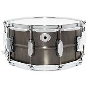 Ludwig Lc665 Pewter Copper Phonic 6.5x 14 Snare Drum With Imperial Lugs
