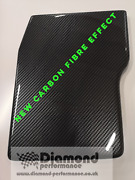 Battery Cover In New Carbon Fibre Effect For Renault Clio 17218216v Mk2