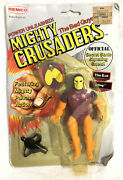 Vintage 1984 Remco The Evil Sting Action Figure Mighty Crusaders