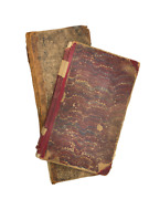 Two Handwritten Ledgers John Camp Chester And Perry Ohio 1850s-1930s