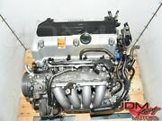 Replacement Honda K24a Dohc I-vtec Accord And Odyssey Jdm Engine