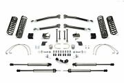 Fabtech K4068dl Trail Long Travel Lift System 5 Lift For 07-18 Jeep Jk 2dr New