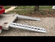 Gen-y R72 Aluminum Car Truck Vehicle Ramps Trailer With Hook Ends 6 Foot Ramp