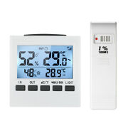 Digital Wireless Lcd Indoor/outdoor Thermometer Hygrometer Humidity Meter H2h1
