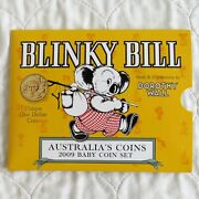 Australia 2009 Blinky Bill Baby Uncirculated 6 Coin Set - Sealed Pack