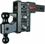 Gen-y Drop Hitch 2.5 Receiver Class V 21k Towing Hitch Gh-623