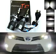 Led Kit G8 100w 9003 Hb2 H4 5000k White Two Bulbs Head Light Replace Upgrade