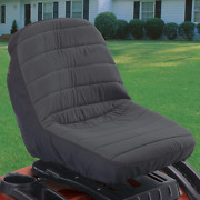 Tractor Mower Protector Seat Cover Lawn Riding Outdoor Garden Backrest Accessory