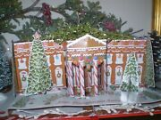 Beautiful Book 'gingerbread White House' Signed By Both Chefs