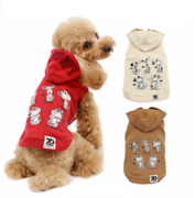 Peanut Snoopy 70th Anniversary Limited Dog Hoodie Pet Clothes Puppy Jumpsuit Cat