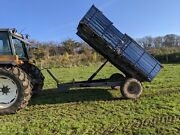4 Ton Farm Tipping Trailer For Equestrian Use Or Small Holding For Tractor