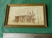 Pre Pro Geo Ruhland Baraboo Brewery Picture, Cigars, Beer Hall, Workers, Deliver
