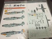Eagle Editions Eagle Cal Ec72-27 1/72nd Scale German Bf 109g-6and039s Gpm