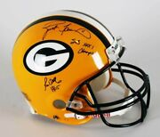 Brett Favre And Ron Wolf Signed, Inscribed Green Bay Packers Super Bowl Xxxi Au...