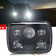 Dot 2pc 7x6 Led Headlight Sealed Beam For Jeep Xj Yj Chevy Cargo Ford Gmc H6054