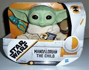 Mandalorian The Child Talking Plush Star Wars Toy Hot Christmas Gift Squeeze 🔥