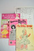 Lot Of 3 -vintage Doll Clothes Crochet Pattern Books 1951