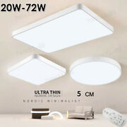Led Ceiling Light Dimmable Ultra Thin Flush Mount Kitchen Lamp Home Fixture⭐⭐⭐⭐⭐