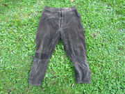 Pants Knickers In Velvet Dand039amiens Of Soldier French 14-18 Original Ww1