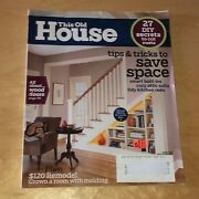 This Old House Magazine March 2009 Diy Secrets Wood Doors Tips To Save Space