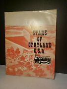 1973 Stars Of Opryland Usa Book Autographed By Kitty Wells/bobby Wells