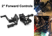 2 Forward Controls Foot Pegs For Softail Heritage Springer Fatboy Flstc 00-17