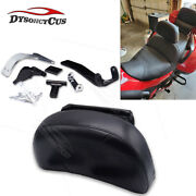 Fit 13+ Honda Goldwing F6b Adjustable Driver Backrest Pad Mount And Storage Pouch