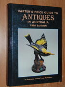 Carterand039s Price Guide To Antiques In Australia 1986 Edition Carter Alan V. Good