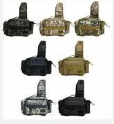 Fishing Bag Tackle Multifunctional Outdoor Pack Waist Storage Lure Crossbody New