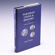 Parthian Coins And History Ten Dragons Against Rome By Fred B. Shore Vg/vg