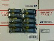 Lot Of 6 Of 40gbase-sr4 Qsfp+transceiver For Dell Networking N4032f S4810 Z9000