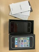 Apple Iphone 3gs Black 8gb Mb604ll/a W/ Original Box And Manual - For Parts