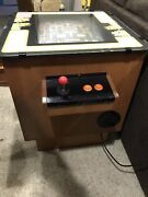 Original 1980andrsquos Midway Ms.pacman Cocktail Table Arcade Game Very Rare