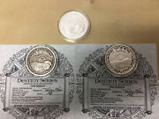 Must See Lot Of 3x 2 Troy Oz .999 Fine Silver Art Rounds Coins - Complete Set