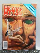 Heavy Metal 1982 Starstruck Elaine Lee Michael Kaluta Front Cover By Alan Ayers