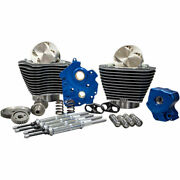 Sands Gear Drive 124 Big Bore Power Package Kit Chrome Harley M8 Water-cooled