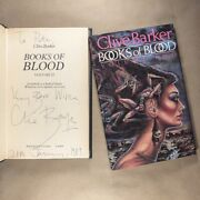 Books Of Blood Volume 2 By Clive Barker Signed, Hardcover, First Uk Edition