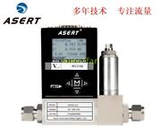 Multi Range Optional Digital Gas Mass Flowmeter Ast10-dl 2sccm-30slm 24v 4-20ma