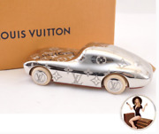 New Louis Vuitton Silver Race Car Collectible Paper Weight In Lv Box +dust Bag