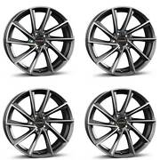 4 Borbet Wheels Vtx 7.5x19 Et40 5x108 Grapp For Land Rover Discovery Freelander
