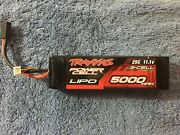 Traxxas 5,000mah 25c 11.1volt 3 Cell Lipo Battery - Used In Good Condition