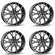 4 Borbet Wheels By 10.0x21 Et45 5x108 Titapm For Volvo S90 V90 Xc60 Xc90