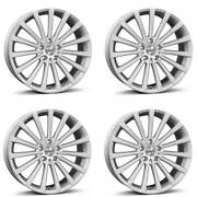 4 Borbet Wheels Blx 8.5x19 Et45 5x108 Sil For Jaguar S-type Xe Xf Xj