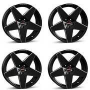 4 Borbet Wheels A Neu 7.5x17 Et35 4x100 Swm For Rover 200er 25 400er 45