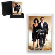 Sale Price-2020 5 Gram Silver Foil James Bond 007 Quantum Of Solace Movie Poster